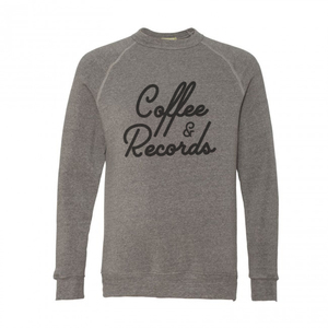 Coffee & Records Crew Neck Sweatshirt