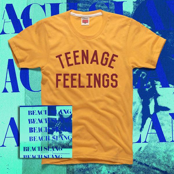 Beach Slang - A Loud Bash Of Teenage Feelings album and shirt bundle