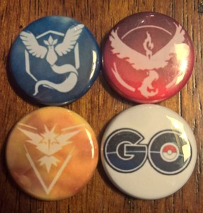 Pokémon GO pin pack!
