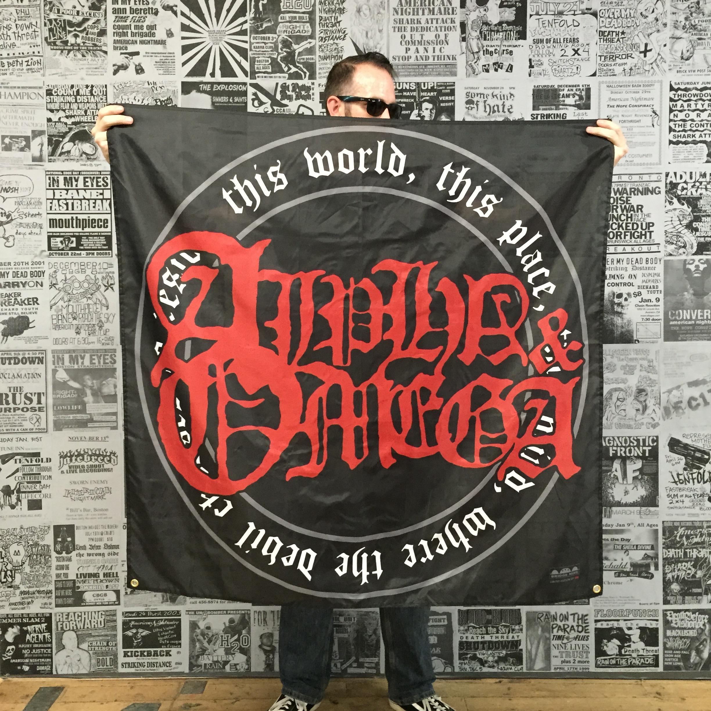 70763f7082b Buy Alpha   Omega  Underworld  Banner at Bridge Nine Records