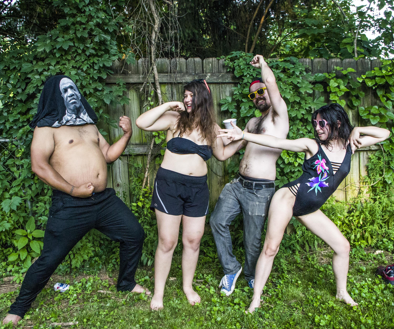 Crazy brazilian orgy