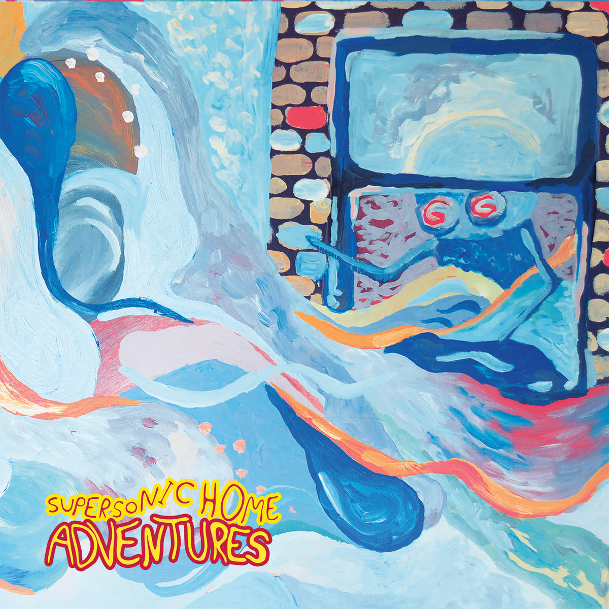 Adventures - Supersonic Home LP