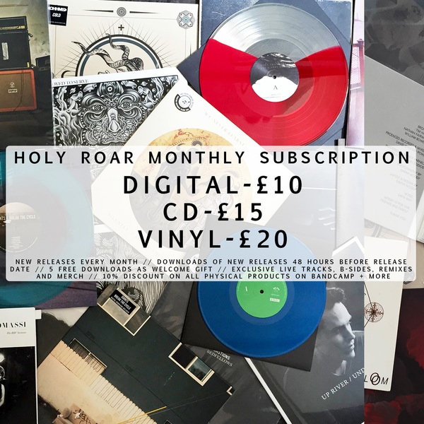 Holy Roar monthly subscription - Holy Roar Records Ltd