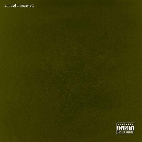 Kendrick Lamar - untitled unmastered. LP