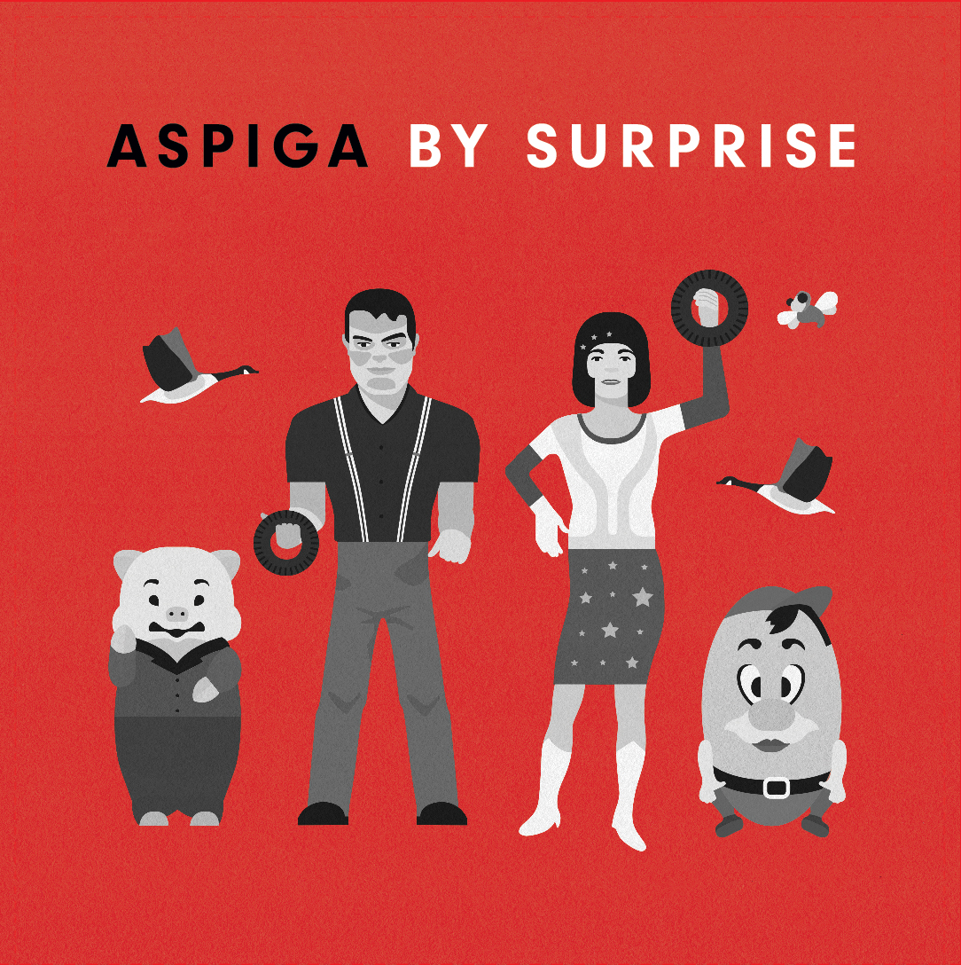 ASPIGA / BY SURPRISE Split 7