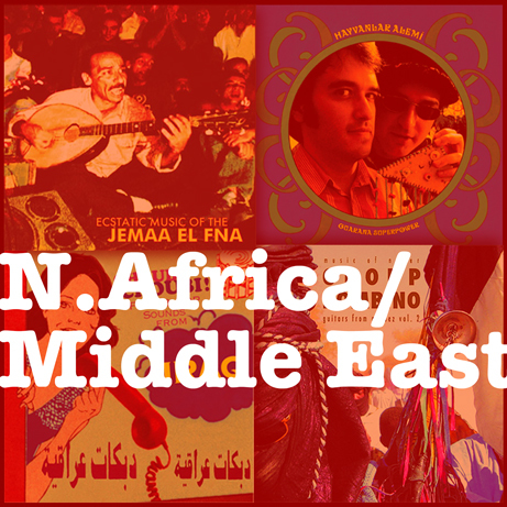 Bundle #3 - North Africa / Middle East - $45 for 4 CDs