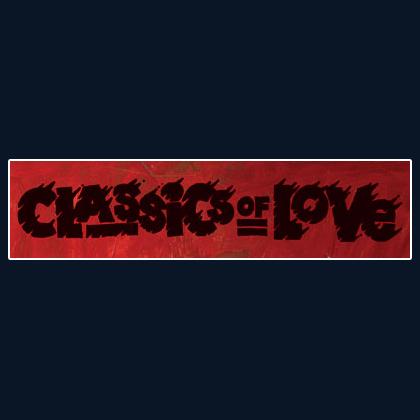CLASSICS OF LOVE Sticker
