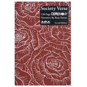Ceremony 'Society Verse' 128 Page Book