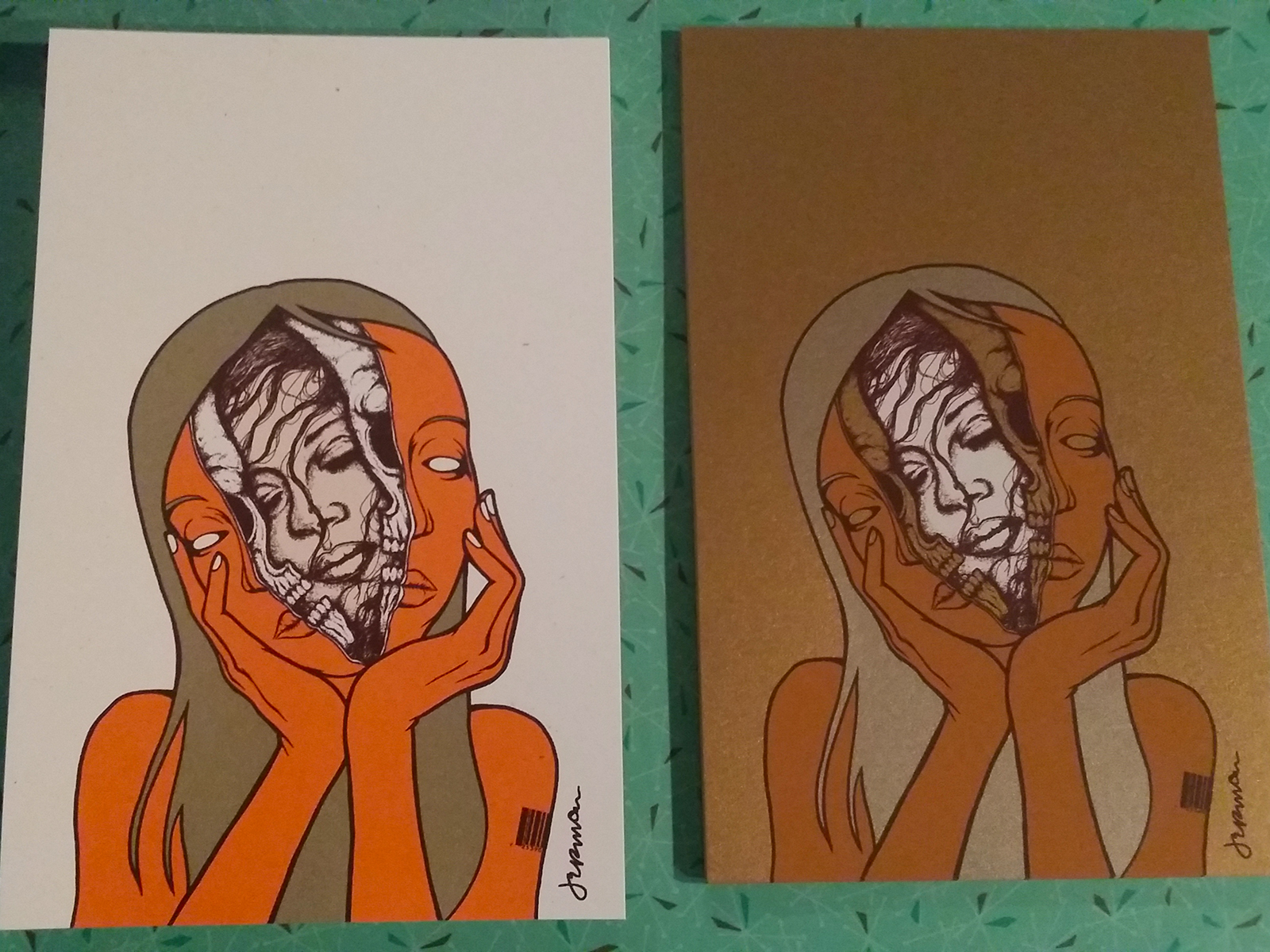'Pneuma' Mini Print (VARIANTS)
