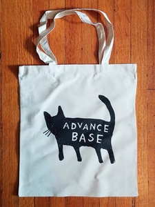 ADVANCE BASE - Cat Tote Bag