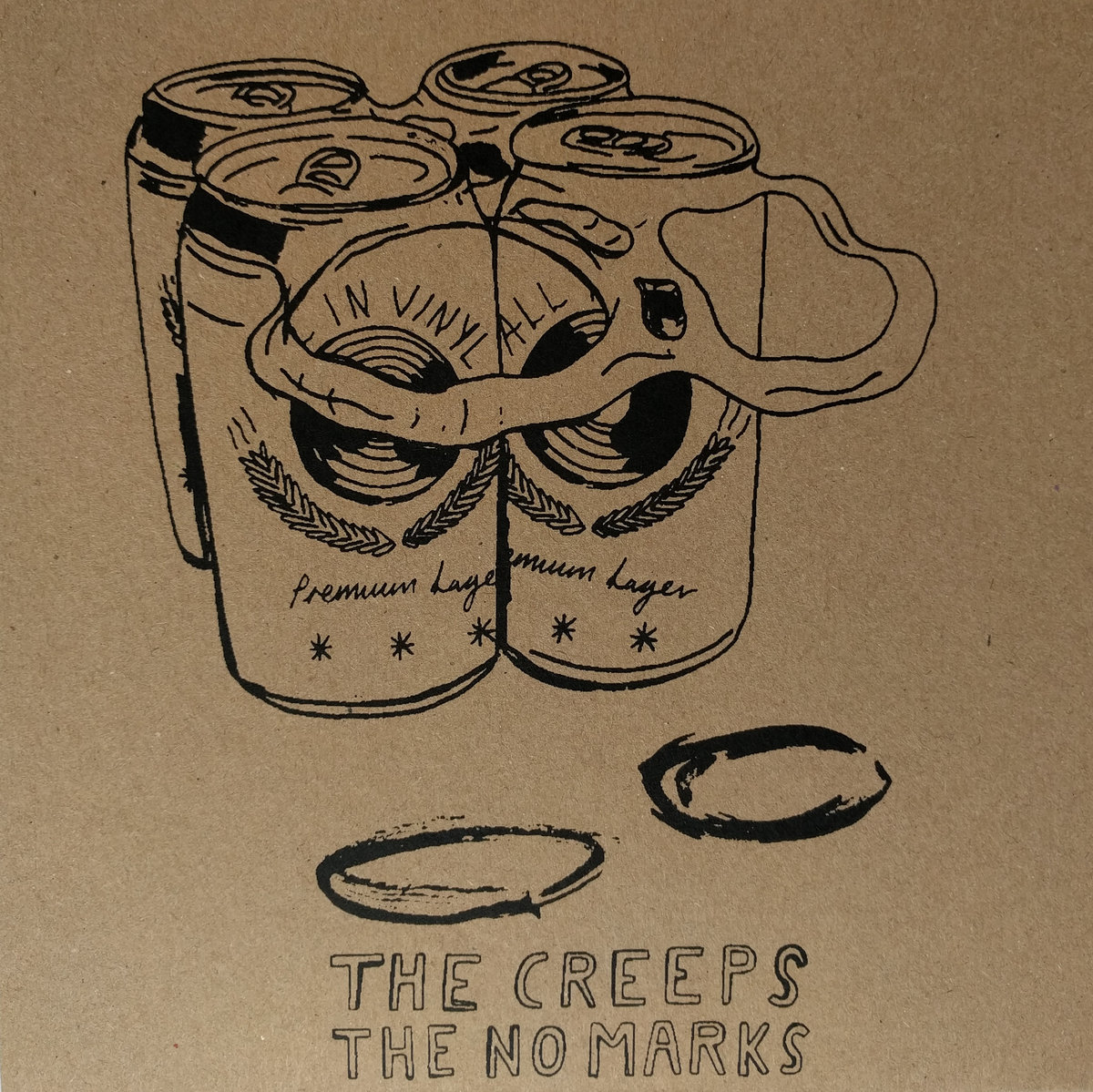 The Creeps / The No Marks - Split 7