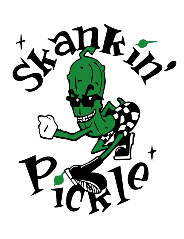 SKANKIN' PICKLE Sticker