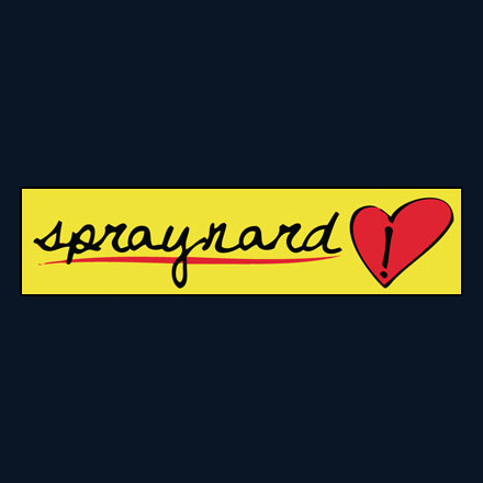 SPRAYNARD Sticker
