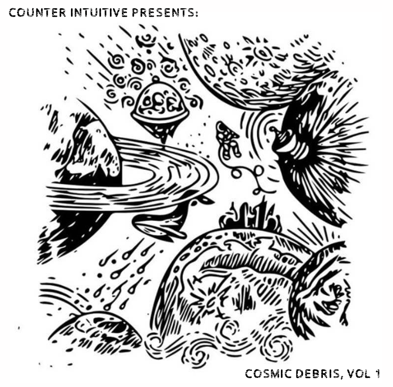 Counter Intuitive Presents: Cosmic Debris, Vol 1.