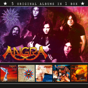 Angra - 5 Original Albums In 1 Box