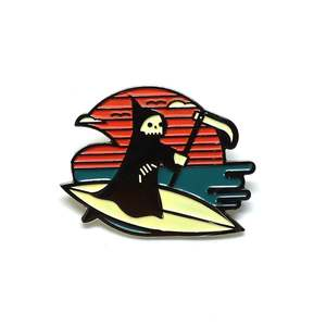 Lost Lust Supply - Life's A Beach Enamel Pin
