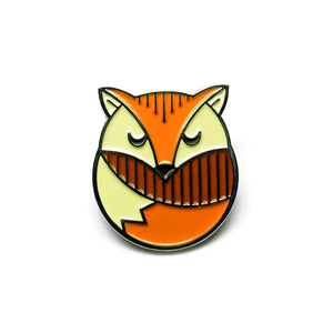 Lost Lust Supply - Fox Enamel Pin