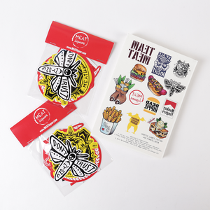 MEATtattoos + MEATstickers Bundle