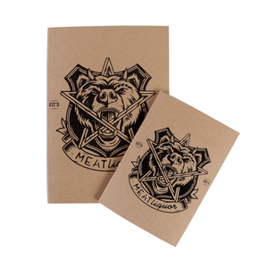MEATliquor Notebook Bundle - A5 and A6