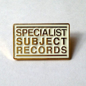 Small Specialist Subject Logo enamel pin badge