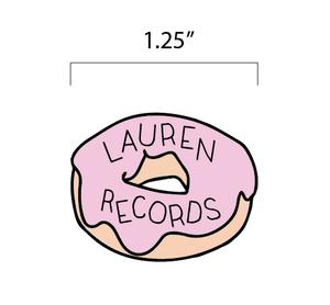 Lauren Records - Donut Enamel Pin