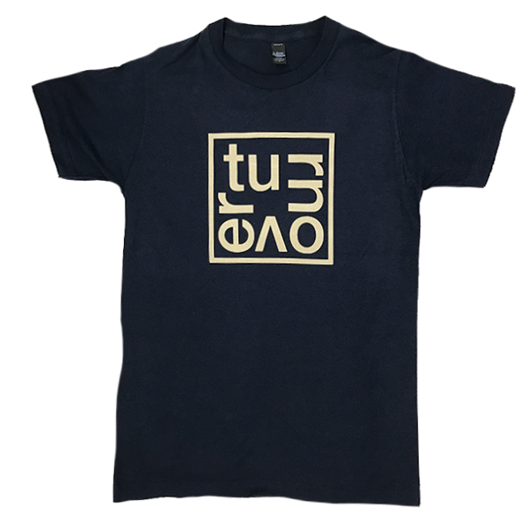 Turnover - Box Logo Shirt (Navy Blue)