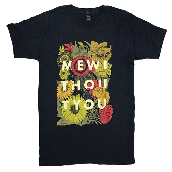 mewithoutYou - Flowers Shirt