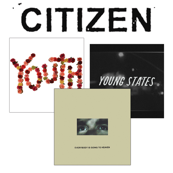 Citizen Bundle - Everybody is Going to Heaven, Youth & Young States Vinyl/CD/CS