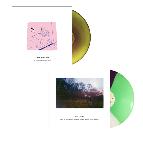 Teen Suicide Bundle - DC Snuff Film / Waste Yrself & I Will Be My Own Hell Because There Is A Devil Inside My Body LP/CD/CS