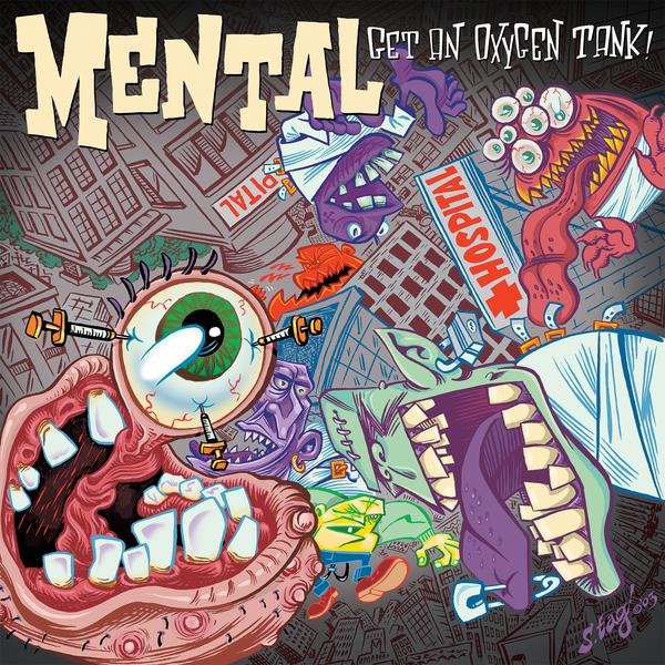 Buy Mental Get An Oxygen Tank At Bridge Nine Records