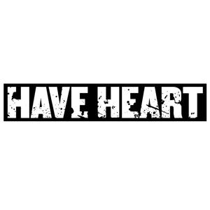 Have Heart 'Oversized Logo' Sticker