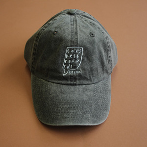 Topshelf Records - Navy Embroidered Logo Baseball Hat