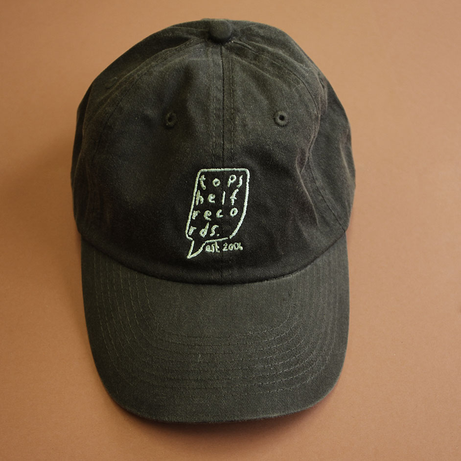 Topshelf Records Uk Black Embroidered
