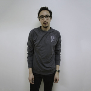 Topshelf Records - Hand Drawn Logo Crewneck (Dark Gray)