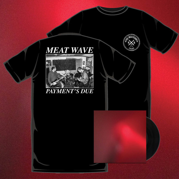 MEAT WAVE - The Incessant LP / CD and Shirt Bundle