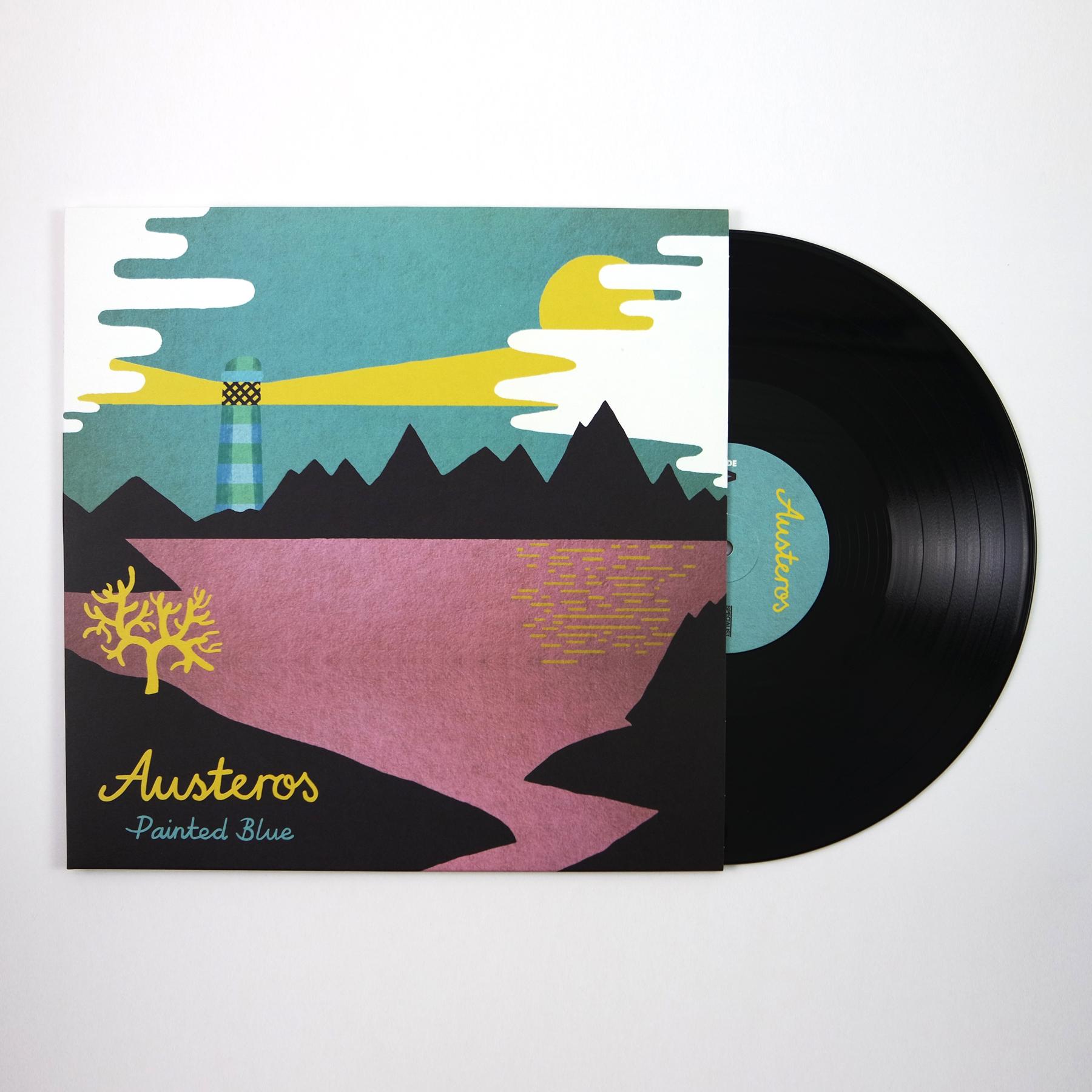 Austeros - Painted Blue LP / CD