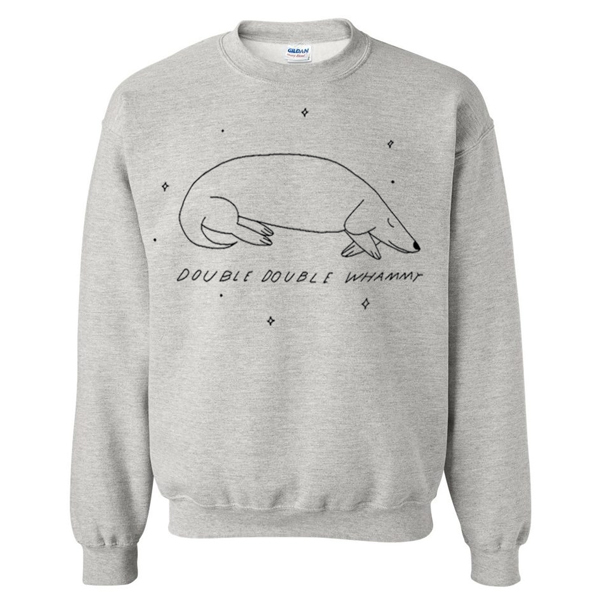DDW Sleeping Dog Crewneck Sweatshirt