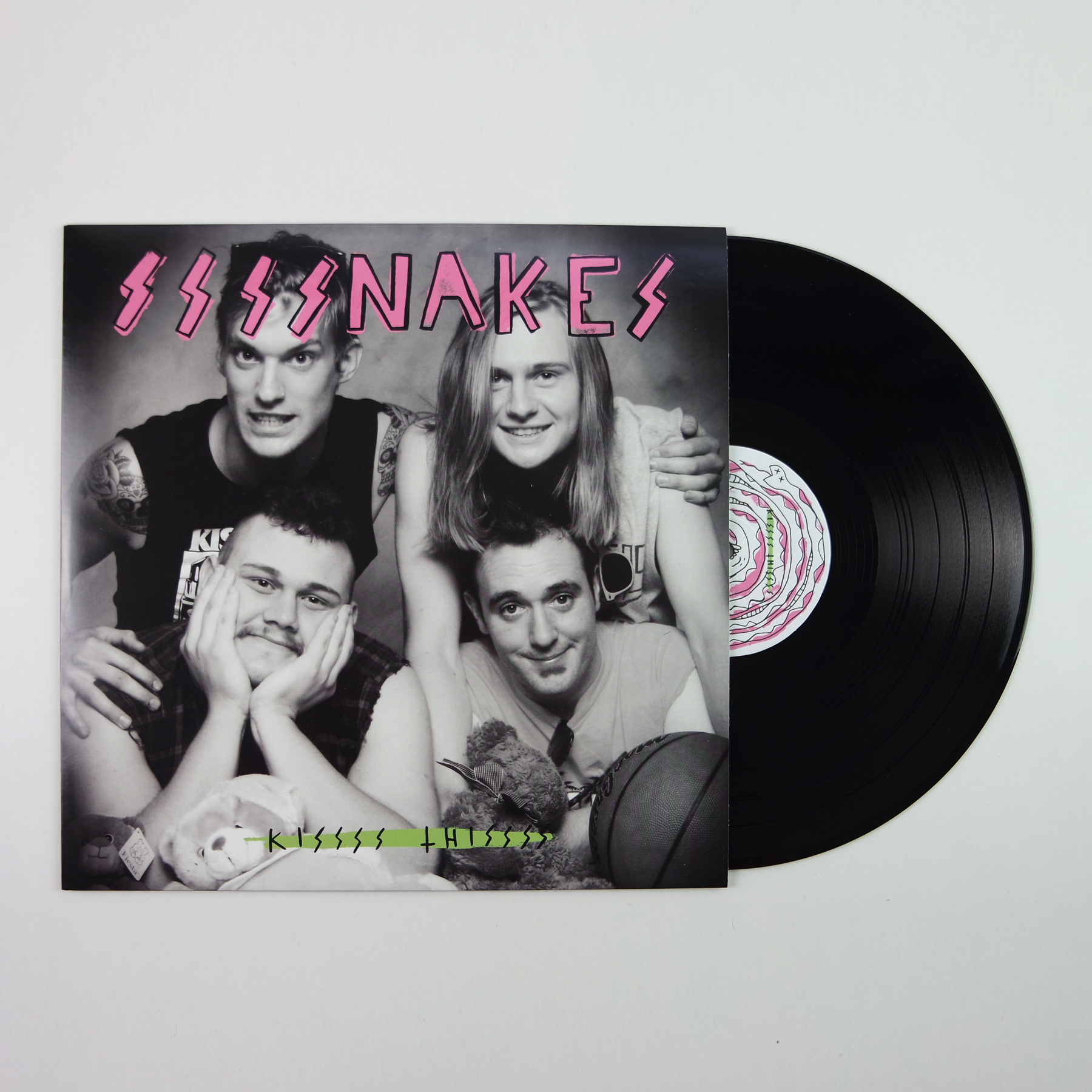 Ssssnakes - Kissss Thissss LP