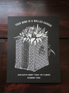 You Mind is a Walled Garden (Westworld) - Print