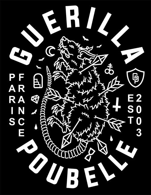 Guerilla Poubelle - TS dead rat