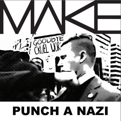 MAKE 'Punch A Nazi' Sticker