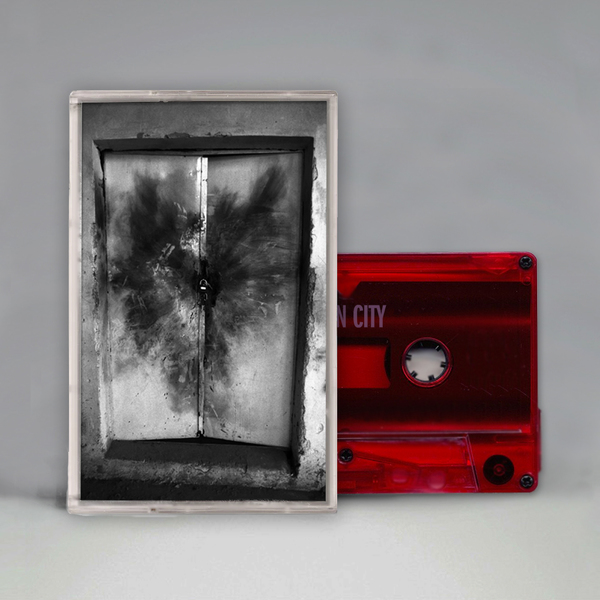 OPEN CITY CASSETTE (CLEAR RED)