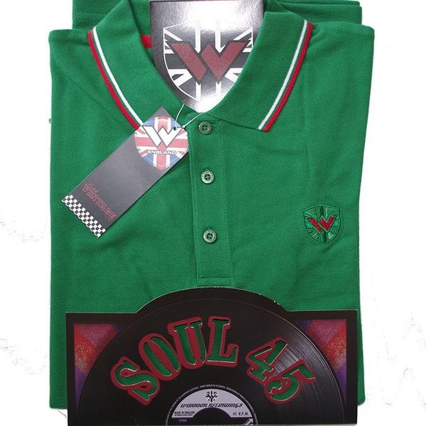 Soul 45 Polo Keep the Faith Emerald