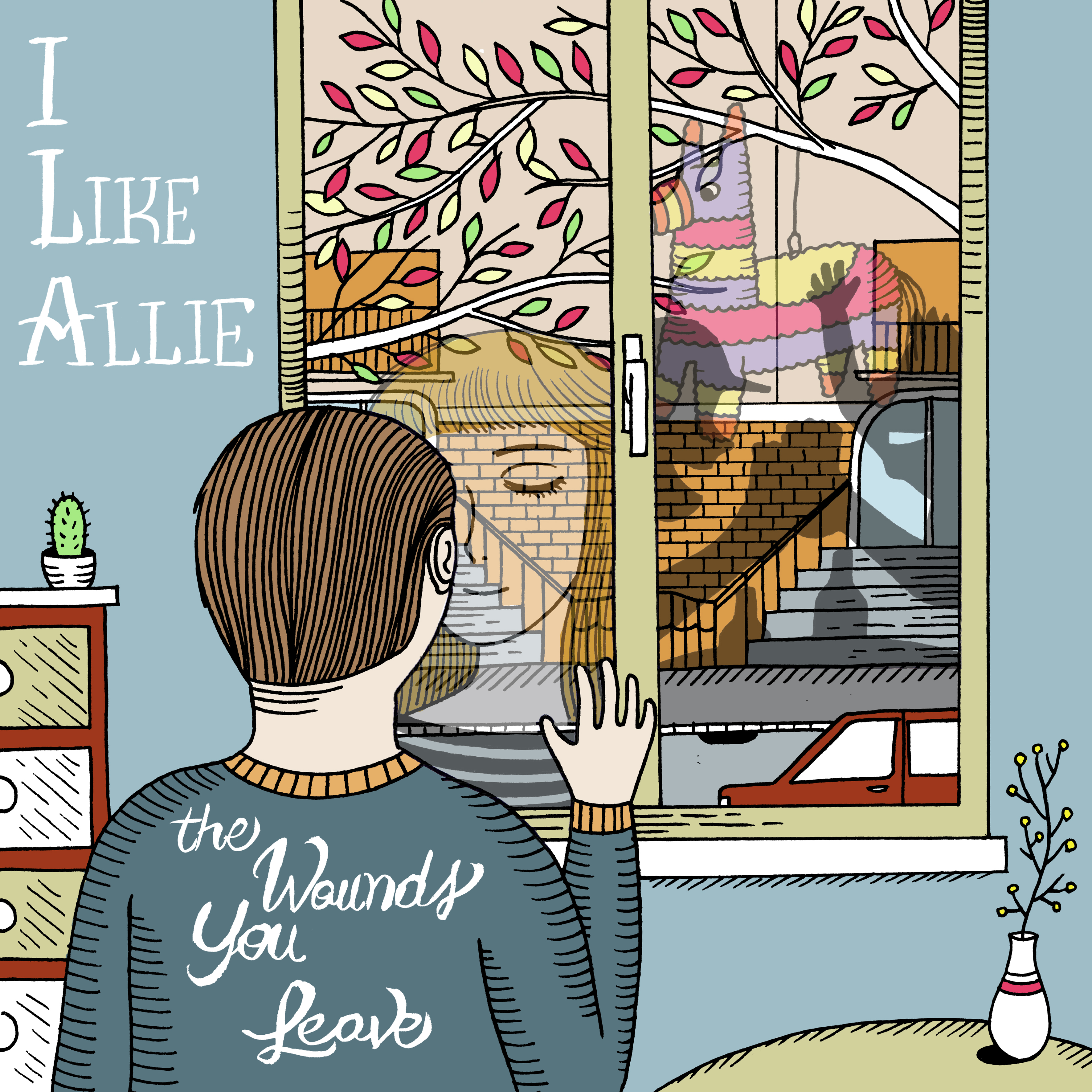 I Like Allie - The Wounds You Leave - Black Vinyl