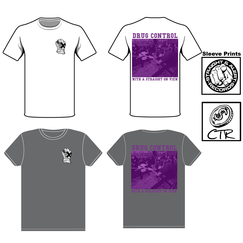 Drug Control-X'ed T-Shirt