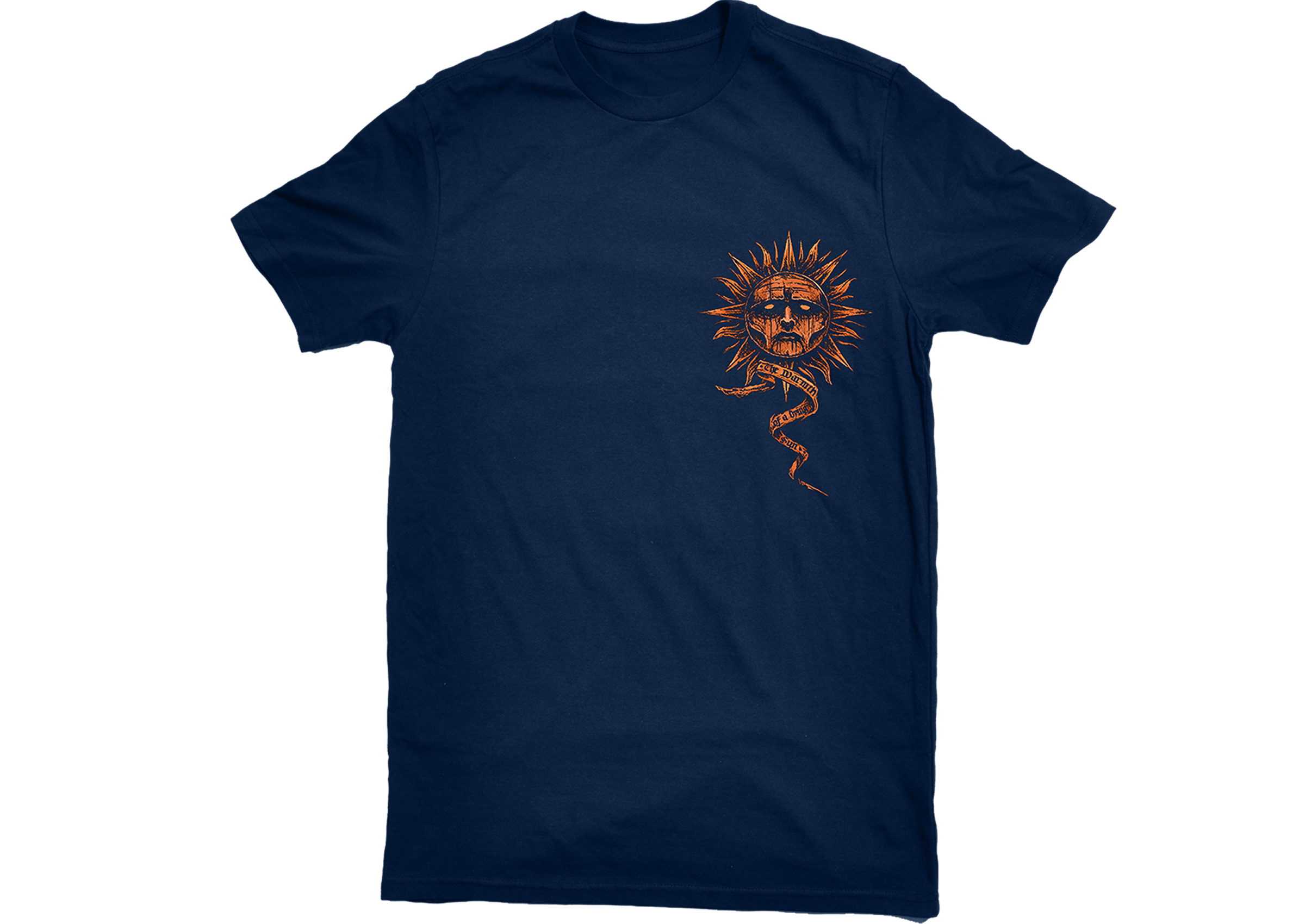 Employed To Serve - The Warmth Of A Dying Sun navy sun shirt