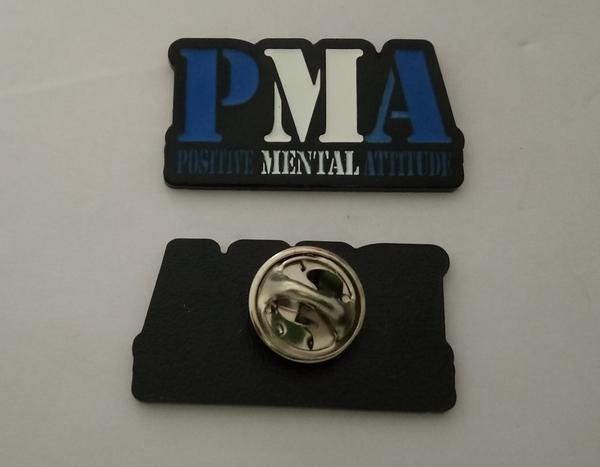 Positive Mental Attitude (PMA) Enamel Pin