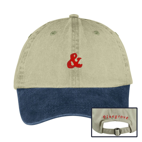 Pinegrove 'Ampersand Baseball Hat'