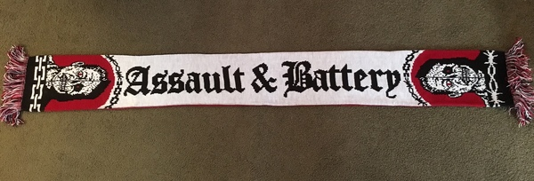 Assault & Battery 2nd Release Scarf