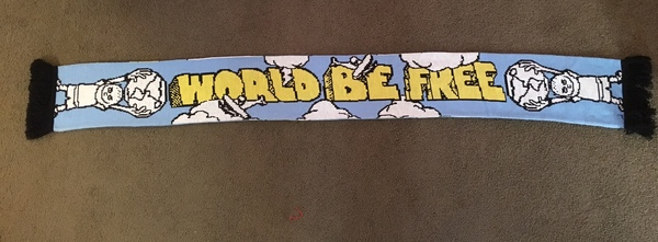 World Be Free Scarf